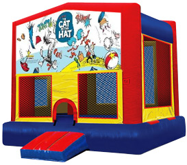 The Cat in The Hat Bouncer Rental
